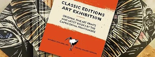 Classic Editions Art Exhibition Capricornia Printmakers