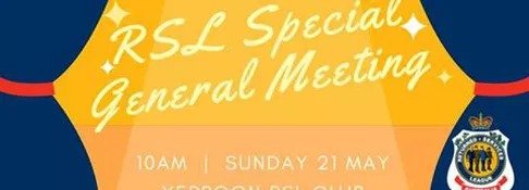 RSL Special General Meeting